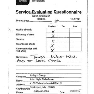 Customer Satisfaction – #1 Priority For TMI Coatings