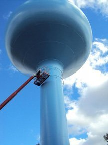 TMI Coatings Completes A Water Tower Renovation In Virginia, MN