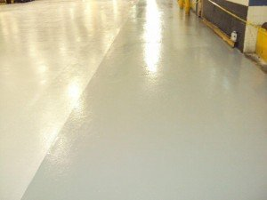 TMI Coats Floor With CHEM-RESIST Epoxy Flooring System For Slip Resistance Safety
