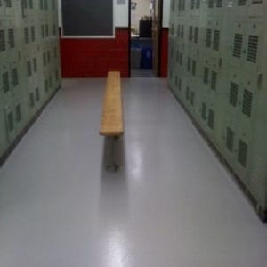 TMI Repairs School Locker Room Floor