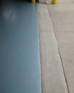 TMI Installs CHEM-RESIST Flooring at Manufacturing Facility floor up close