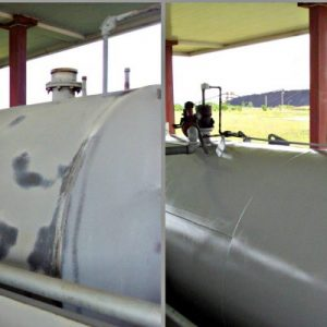 TMI Safely Coats Diesel Fuel Tanks
