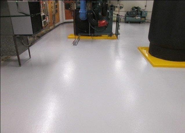 CHEM-RESIST floor coating