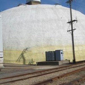 TMI Repairs, Insulates And Coats Main Processing Dome