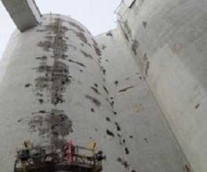 Concrete Silo Restoration And Coating In Crookston, Minnesota
