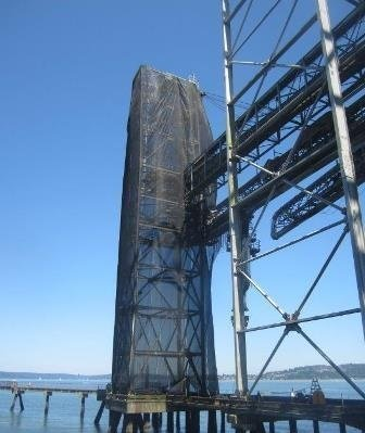 Conveyor Supports Safely Coated In Tacoma, WA