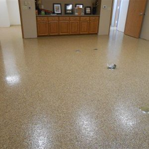 Office Renovation With TMI CHEM-RESIST Flake Floor