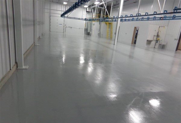 ESD Flooring In Medical Manufacturing Facility