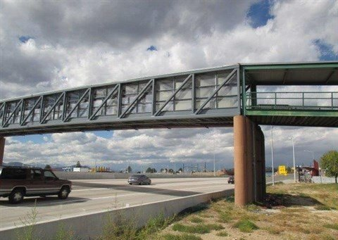 Bridge in Colorado Painted by TMI Coatings