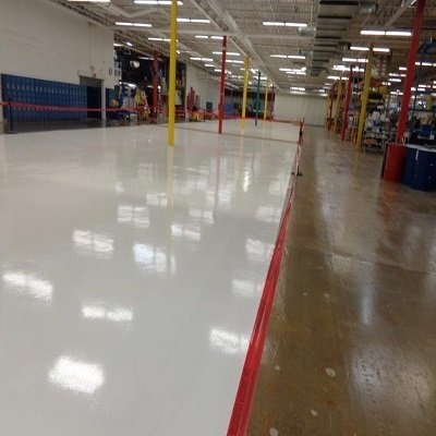 Industrial Filter Manufacturer Floor done by TMI Coatings