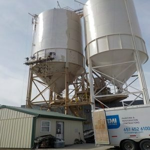 Industrial Painting Of Silos, Lafarge North America, Inc.