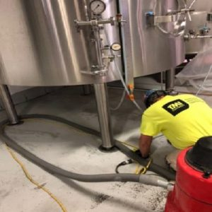 Prepping Surly Brewery Floors For Cementitious Urethane Floor Topping