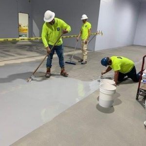 TMI Coatings Protects New Concrete Floors In Food Plant