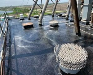 Hubbard Feeds Concrete Silo Roof Coating