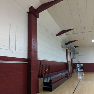 Old School Gym Gets A Face Lift