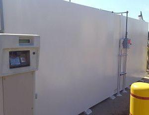 Truck Driving School Gas Tank Enclosure Project