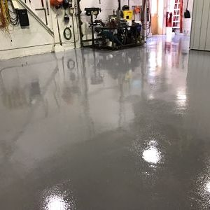Dairy Floor Restoration And Floor Topping