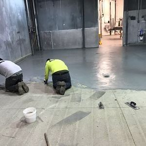New Floor Topping For Meat Cutting And Packaging Facility
