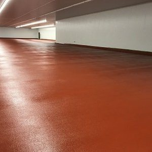 New Concrete Floor At Land Mark Products Gets Floor Topping