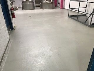 Pharmaceutical Company Receives New Flooring In Reactor Rooms